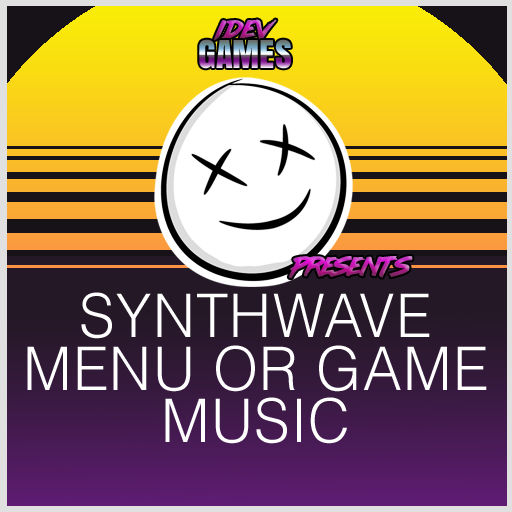 Free Synthwave Game or Menu Music